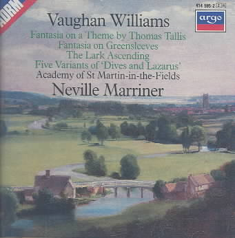 VAUGHAN WILLIAMS:FANTASIAS BY MARRINER,NEVILLE SI (CD)